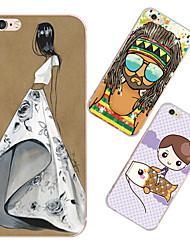 maycari®fashion TPU Retour cas pour iphone 6 plus / 6s plus (couleurs assorties)