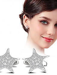 Earring Hoop Earrings Jewelry Women Silver Plated 2pcs Silver