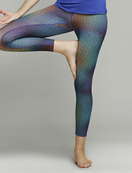Iyoga® Yoga Pants / Crop / Leggings / Tights Breathable/Four-way Stretch / Sweat-wicking / Low-friction