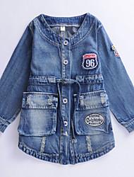 Girl's Blue Jeans , Dresswear Denim Spring / Fall