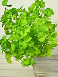 The Simulation Green Plants Money Plastic Plants Artificial Flowers