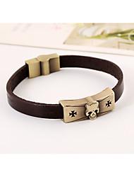 M leather bracelet fashion alloy antique copper bracelet bracelet bracelet vintage jewelry mixed batch(bracelet)