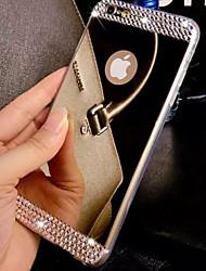 Назначение iPhone 8 iPhone 8 Plus iPhone 7 iPhone 7 Plus iPhone 6 iPhone 6 Plus Чехлы панели Стразы Покрытие Зеркальная поверхность