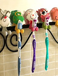 Animal Shape Hanging Toothbrush Holders(Random Color)