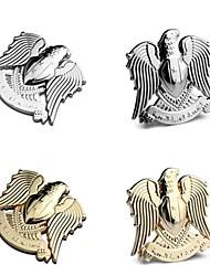 águia estilo do carro falcão totem metal cromado emblema emblema autocolante 3d / grelha de auto decoração legal do logotipo do decalque