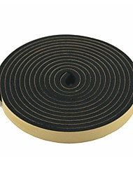 2 Pcs 5 Meters 20mm Wide Black Foam Air Sealed Strip for Car Door