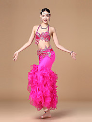 Belly Dance Tops / Bottoms / Outfits / Belt Women's Performance Chiffon