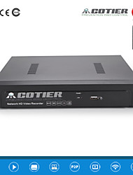 cotier®4ch 1U PoE NVR 1080p / 1 канал VGA + HDMI 1 канал / ONVIF / NVR N4 / 1U-PoE