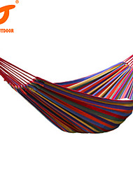SWIFT Outdoor Brand New 280*100cm Fabric Colorful Indoor Outdoors Camping Hammock Hanging Bed Sleeping Hammocks