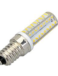 6W E14 Ampoules Maïs LED T 64 SMD 3014 400-500 lm Blanc Chaud / Blanc Froid Décorative AC 100-240 V 1 pièce