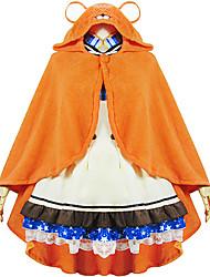 Inspiré par Himouto Cosplay Manga Costumes de Cosplay Cosplay à Capuche Mosaïque Imprimé Manches Longues Manteau Pour Féminin