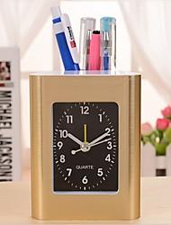 RT   Fashion Brush Pot Clock