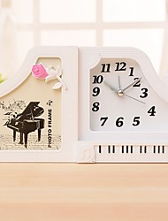 rt camisa cor de piano dobrar o despertador