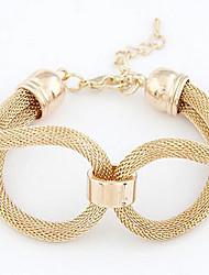 Weave Alloy Bracelet Chain & Link Bracelets Daily / Casual 1pc