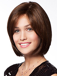 Classy Chic  Hand Tied -Top Remy Human Hair Capless Short Straight Woman's Wig