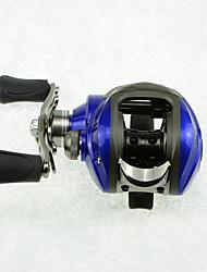 DMK DM120LA-C Bearing 11 Bait Casting Fishing Reel Gear Ratio 6.3:1 Max Drag 5kg Left Handle  Magnetic Brake