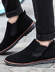 Men's Shoes Casual  Boots Black / Gray