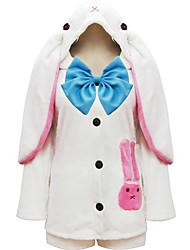 Inspired by Vocaloid Hatsune Miku Anime Cosplay Costumes Cosplay Suits Patchwork White Top / Skirt / Ribbon