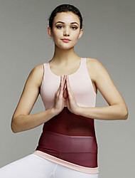 Iyoga ® Yoga Tops / Tank Breathable/Limits Bacteria/Sweat-wicking/Low-friction/Soft/Compression / Lightweight
