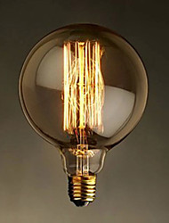 E27 40w Old Tungsten Bulb Dimming Personality Art Deco Cafe Bar Fireworks Balloons