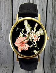 Hibicus Flower Watch | Floral Watch,Women's Watch ,Gift Idea,Custom Watch, Fashion Accessory Cool Watches Unique Watches