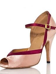 Женская обувь - Атлас / Кожа - Доступны на заказ ( Розовый ) - Латино