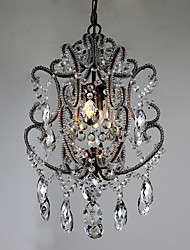 Modern Chandelier New Design Vintage Chandelier Loft Crystal Light Fixture Lustre Hallway Hanging Lamp