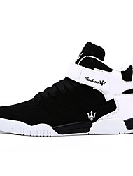 Men's Shoes Outdoor Fashion Sports Shoes Leisure Upper Microfiber fabric Shoes Black/White/White and Black
