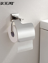 "WC-Rollenhalter Edelstahl Wandmontage 150 x 130 x 90mm (5.9 x 5.11 x 3.54"") Edelstahl Modern"
