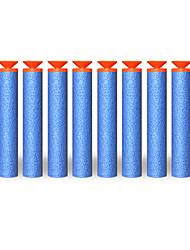 100 pc pistola giocattolo proiettile nerf n-strike artificieri serie mega centurione ricarica clip di freccette morbido proiettile nerf