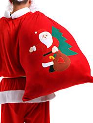 Natale / Babbo Natale rosso grande sacchetto 1pc
