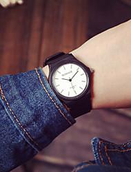 Masculino Relógio de Moda Quartzo Silicone Banda