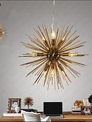 Retro Imitation Copper Creative line 10 Lights