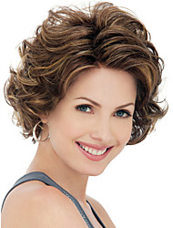 Short Hair Wigs Synthetic Wigs Middle Wigs