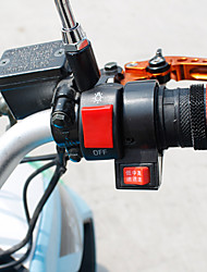 """1 * motocicleta 7/8 """"interruptor de luz de nevoeiro on / off DC12V sistema elétrico"""