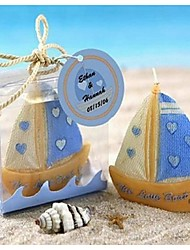 Only Beautiful Small Sailboat Candles