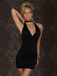 Girls Night Women's Color Block Red / Black / Green Dresses , Sexy / Casual / Party Mid Rise Sleeveless