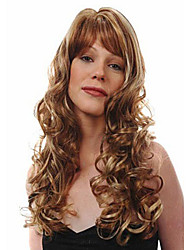 Wave Of Bang Loose Wave Wig Sale To Eurepean  Syntheic  Hair Wigs New Arrival