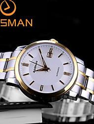 EASMAN Men Watch Business Luxury Brand Gloden Automatic Mechanical Watches Sapphire Wristwatches