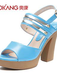 Aokang® Women's Leatherette Sandals - 132825149