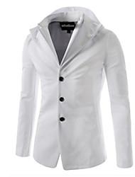Men's Hoodie Coats & Jackets , Cotton Long Sleeve Casual / Work Fashion Winter Wshgyy