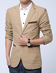 Men's Fashion High Quality Casual Solid Two Button Slim Suit