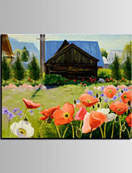 IARTS®Small Warm House Among Floral Beautiful Lanscape Oil Painting Wall ARt Modern Furniture