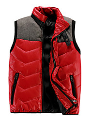 Men's Sleeveless Vest , Nylon Casual / Work / Sport Pure