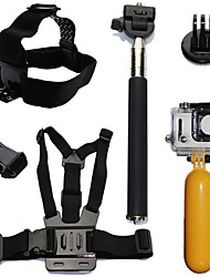 Gopro Accessories Mount/Holder / Straps / Accessory Kit ForGopro Hero 2 / Gopro Hero 3 / Gopro Hero 3+ / Gopro Hero 5 / All Gopro / Gopro