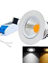 5W Встроенное освещение 1 Integrate LED 0~450LM lm Тёплый белый / Холодный белый Регулируемая AC 85-265 V 1 шт.