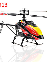 WL Toys V913 Sky Dancer 4 Channels FP Helicopter 2.4GHz Built-In Gyro V913 Toys RC Helicopter Model