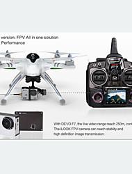 rc-Drohne walkera x350 pro 2.4g 6ch 4Axis devof7 Sender mit iLook Kamera 1.3mp weißen Drohnen rtf