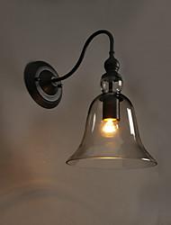 E27 220V 22*29CM 5-10㎡ Creative Garden Light Crystal Wall Lamp Bell Restoring Ancient Ways Light LED