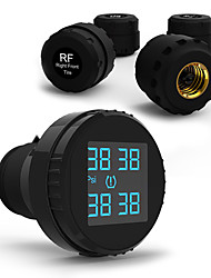 CARCHET TPMS Tyre Pressure Monitoring System+4 External Sensors Cigarette Lighter